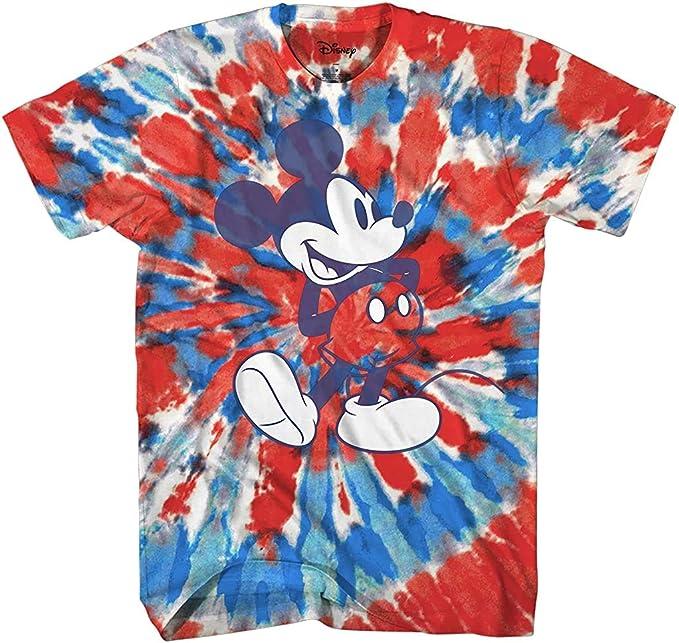 Mickey Mouse Classic Tie Dye Vintage Disneyland World - Camiseta para adulto: Amazon.es: Ropa y accesorios
