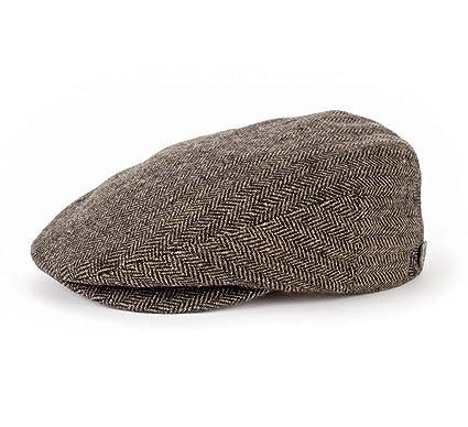 Brixton Boinas - gorra plana hombre Hooligan Tweed - talla XL ...