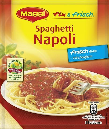 Maggi Fix para espaguetis Napoli, 34 unidades (34 x 44 ...