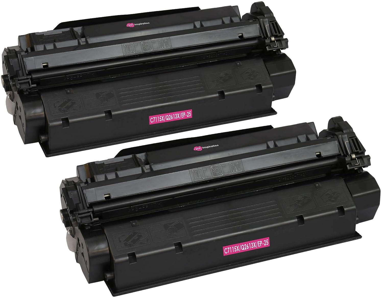 2 INK INSPIRATION® Tóners compatibles para HP Laserjet 1000 1005 ...