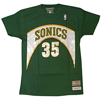 timeless design 01450 9eb5b Mitchell & Ness Seattle Supersonics Kevin Durant Retro Name & Number T-Shirt