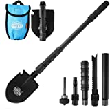 10 in 1 Utility Folding Camping Hiking Shovel Spade Axe Military Self-Defense Survival Tool Set Multi Outdoor Camping…
