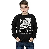 Disney niños Mickey Mouse Most Famous Camisa De Entrenamiento