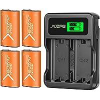 JYJZPB 4 Stuks 2800mAh Accu voor Xbox One X S Serie Oplaadbare Batterij Xbox-Serie X & S-Controller Elite, Kit met…