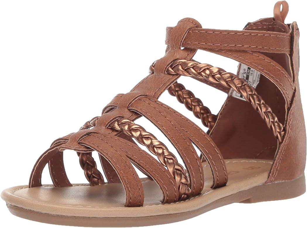 9fca1fc073c1 carter s Girl s Fenna Braided Gladiator Sandal