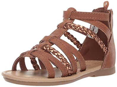 031642067a7695 carter s Girl s Fenna Braided Gladiator Sandal