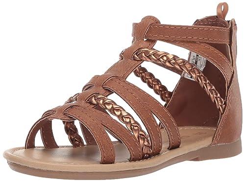 9cad13a65e24d Carter's Girl's Fenna Braided Gladiator Sandal