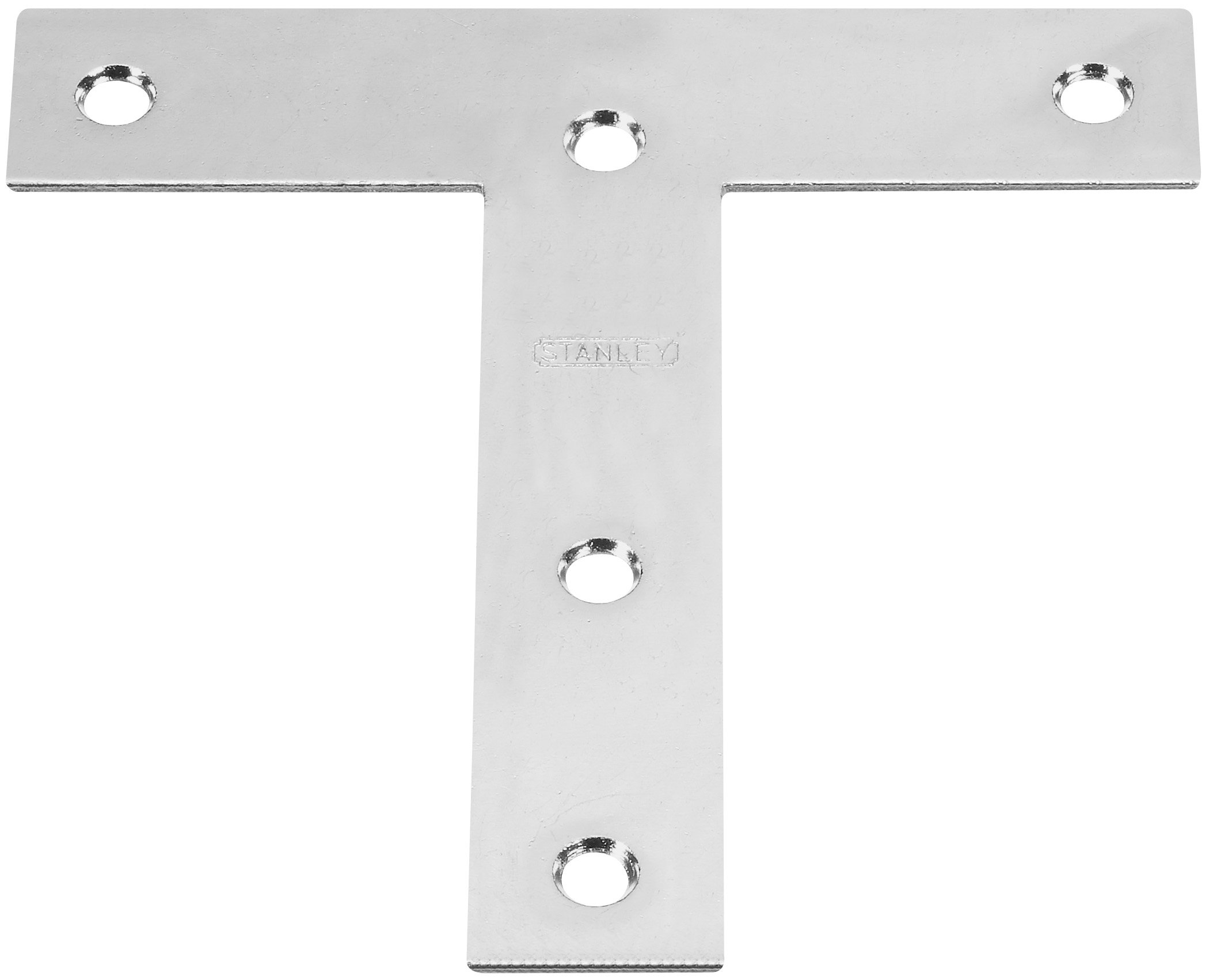 Stanley Hardware 266429 3'' X 3'' Zinc Tee Mending Plates Without Screws