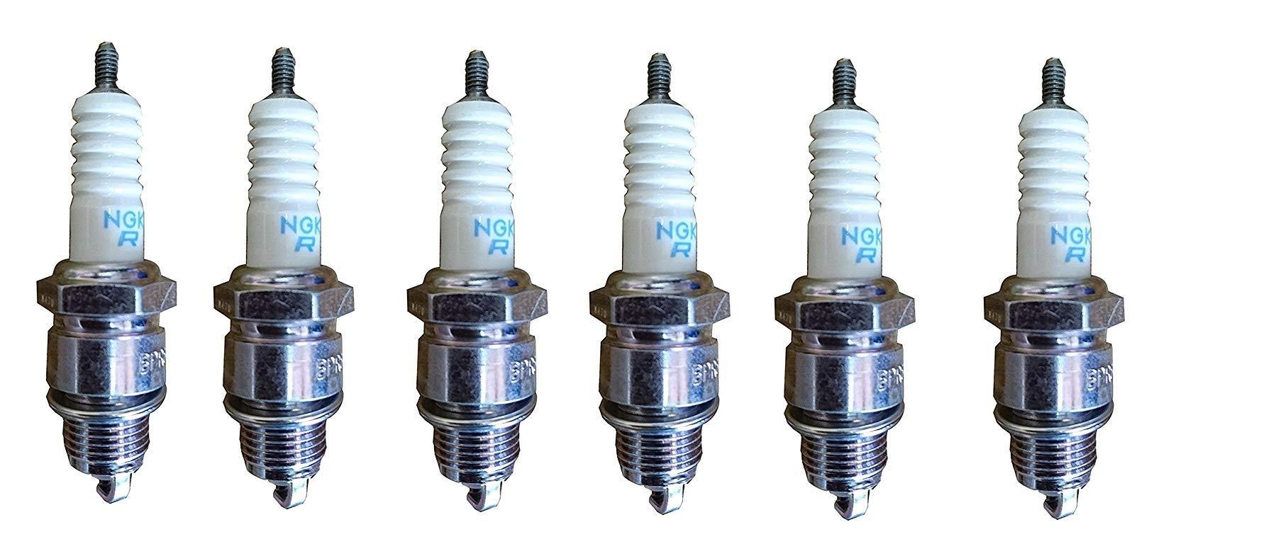 NGK (4929) DPR8EA-9 Standard Spark Plug, Pack of 1 (6)