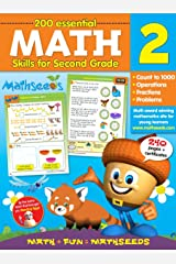 Math for 2nd Grade - 200 Essential Math Skills (Mathseeds) Flexibound