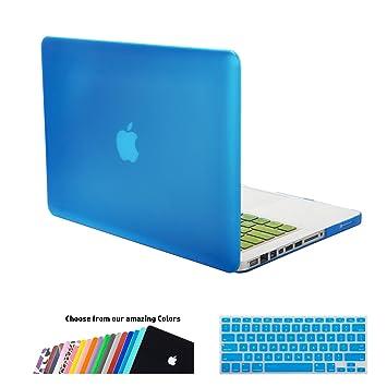 Funda MacBook Pro 13 pulgada,iNeseon(TM) 2 in 1 [Frosted Series]Ultra Delgado Carcasa Dura Shell Case Cubierta del Teclado para Apple MacBook Pro ...