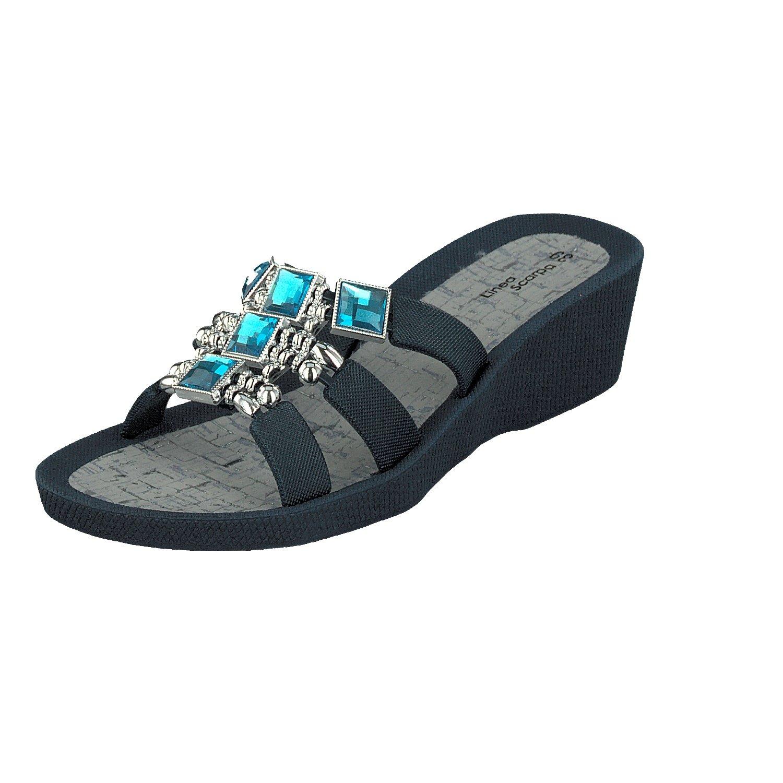 Linea Scarpa Samoa Zapatillas Baño Sandalias Y Zapatos Informales Mujer 40 EU|azul marino