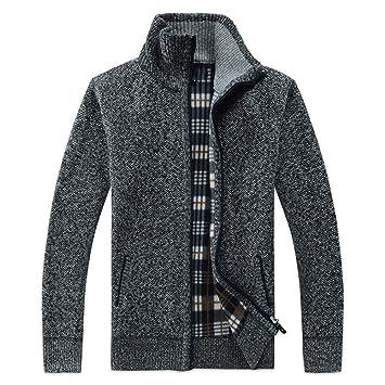 FEIDAO Hombr Jerseys Otoño Invierno Hombre Sweatercoat ...