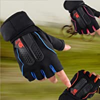 Leoboone Mannen Vrouwen Sport Gym Handschoenen Half Vinger Ademend Gewichtheffen Fitness Handschoenen Halter…
