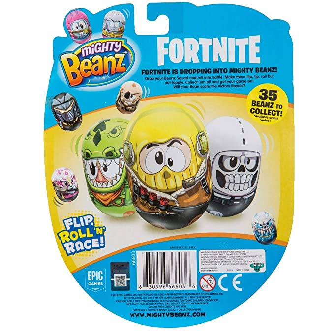 Amazon.com: MIGHTY BEANZ Fortnite - Pack de 4 unidades: Toys ...