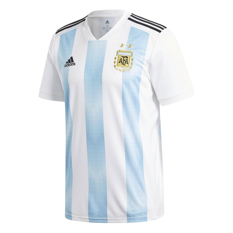 Amazon.com   adidas Men s Soccer Argentina Home Jersey   Sports   Outdoors f630cff45
