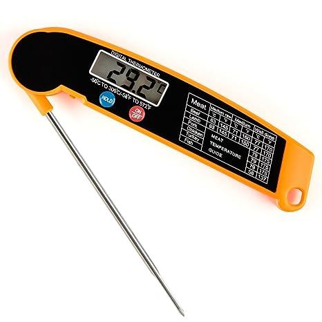 Termómetro de alimentos Tempcare, termómetro digital de cocina, termó