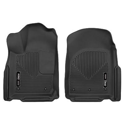 Husky Liners (TYC53571) Husky Liners X-act Contour Black Front Floor Liner: Automotive