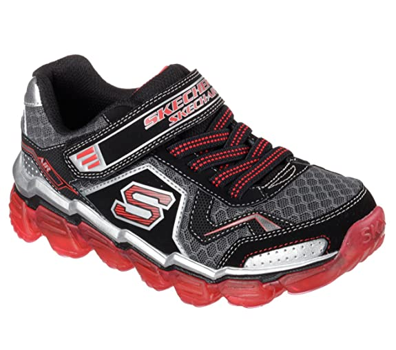 BOYS SKECH AIR BKD - Chaussures Garçon Skechers dk4T2wpix