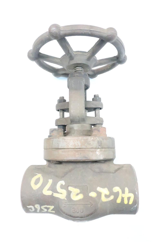 BONNEY FORGE HL-31 800 Steel Threaded 2IN NPT Globe Valve D621323