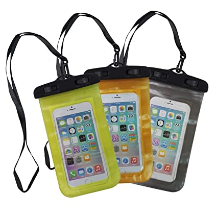 """96de0e1b57 Universal Waterproof Phone Case,YOFUNTLE 6"""" Cell Phone Dry Bag Pouch  with PVC Touch"""