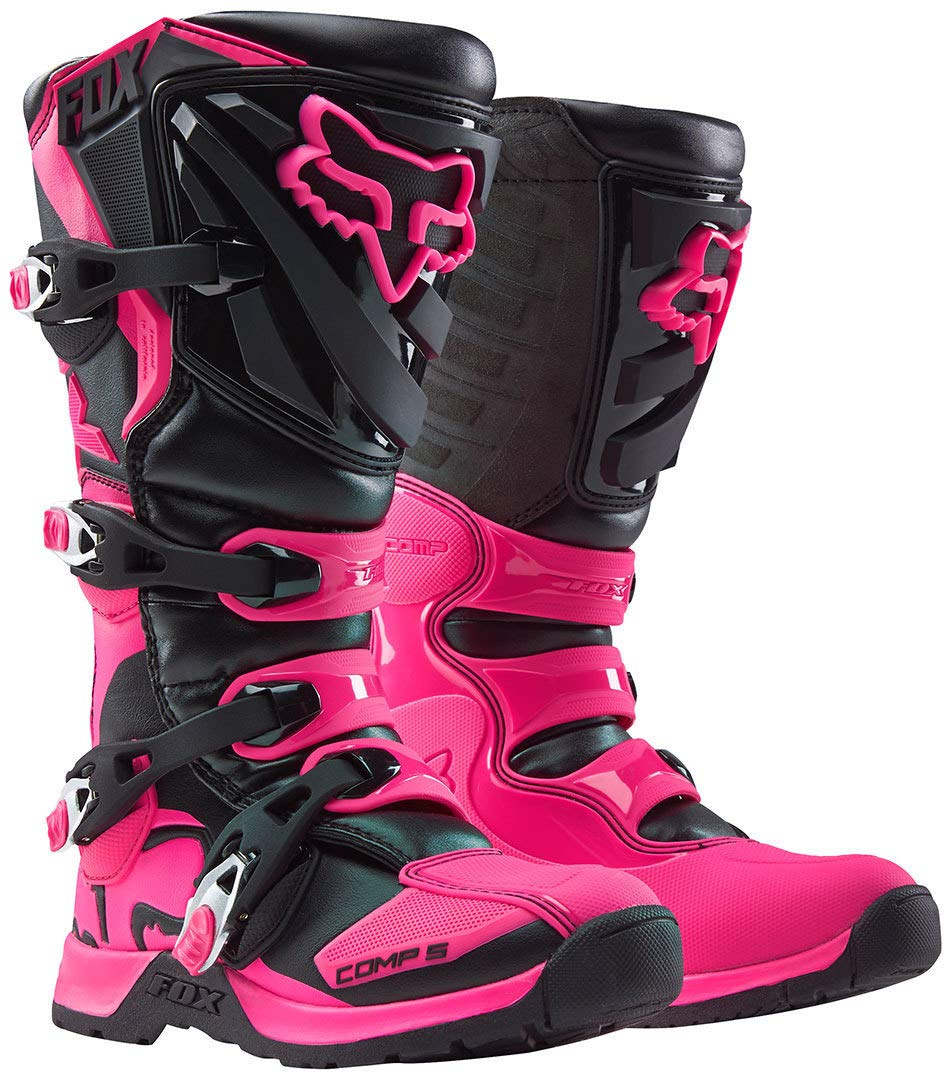 Fox Girls Motocross-Stiefel Comp 5 Pink Gr 37.5