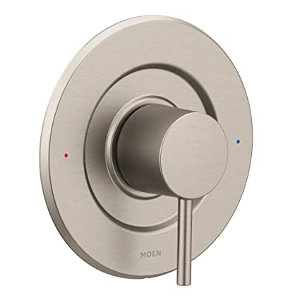 Tub And Shower Valve.Moen T2191bn Align Posi Temp Pressure Balancing Modern Tub And Shower Valve Trim Kit Valve Required Brushed Nickel