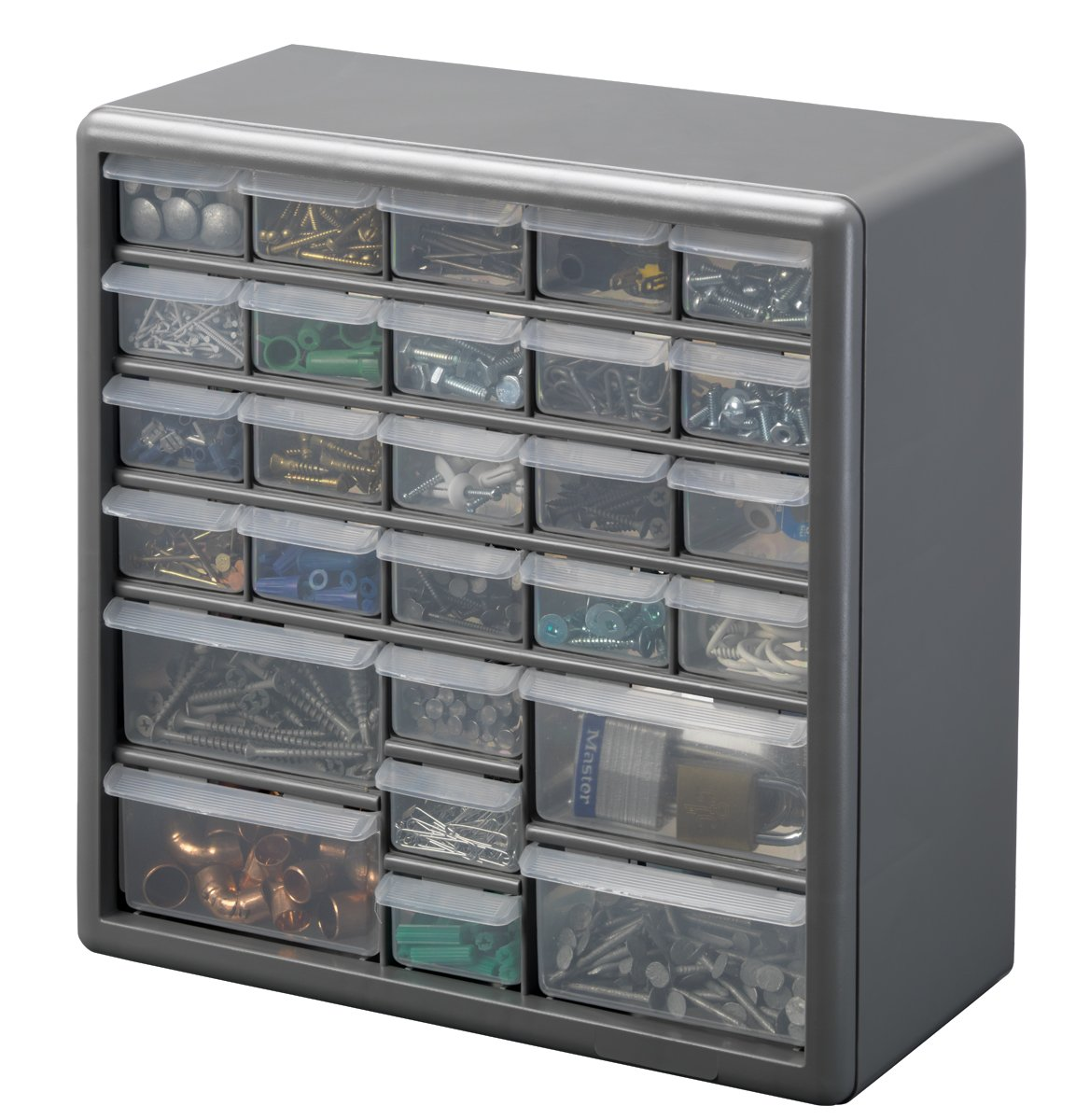 Amazon.com: Stack-On DS-60 60 Drawer Storage Cabinet: Home Improvement