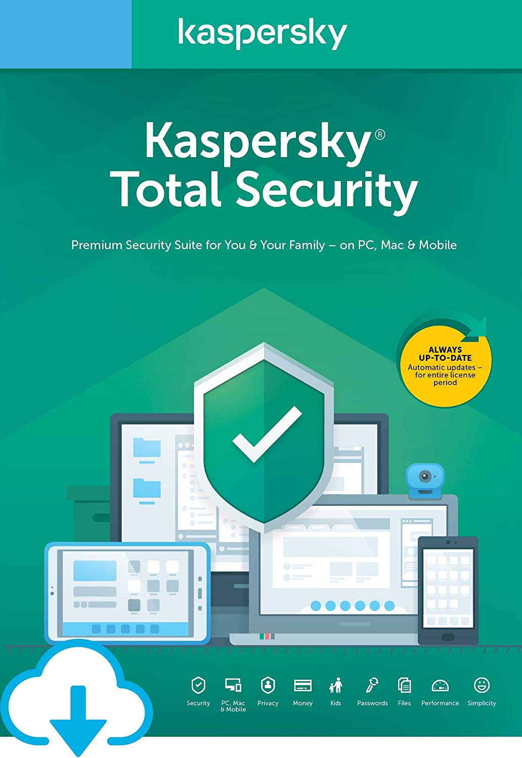 Kaspersky Total Security 2020 | 3 Devices | 1 Year [Download] 71jwI7GDkmL