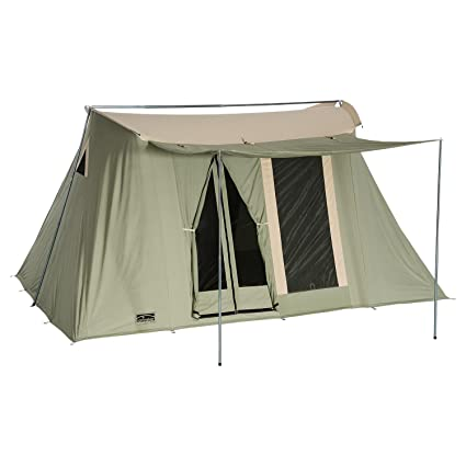 release date: e3a19 ac80f SPRINGBAR Highline 8, 10x14 Foot Canvas Tent, Water-Tight Cotton Canvas  8-Person Family Camping and Car Camping Tent