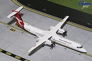 Gemini200 QantasLink Dash 8 Q400 VH-QOA 1:200 Scale Diecast Model Airplane, White