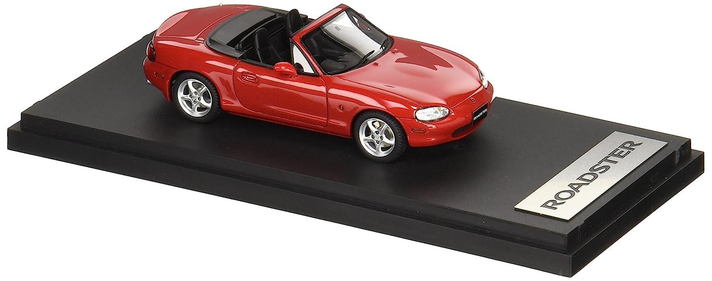 Mark43 1/43 Mazda Roadster (NB8C) RS 1998 Rojo claesico
