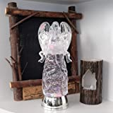 Wondise Color Changing Angel Lighted Snow Globe