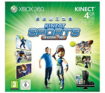 Microsoft 4GB Xbox 360: Kinect Sports - Season Two - videoconsolas (Xbox 360 ,