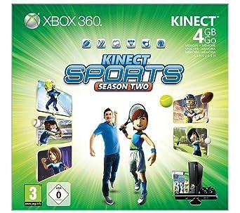 Microsoft 4GB Xbox 360: Kinect Sports - Season Two - videoconsolas (Xbox 360,