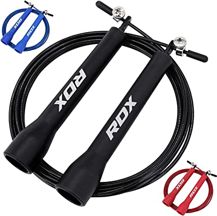 Skipping Rope Nylon Adjustable Jump Boxing Fitness Speed Rope Training Gym MMA