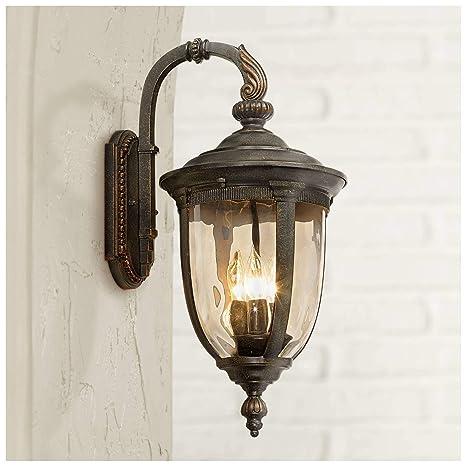 new arrival 47182 cd531 Bellagio Vintage Outdoor Wall Light Fixture Bronze Metal 20 1/2