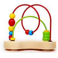 Hape E1801 Double Bubble Wooden Toddler Bead Maze