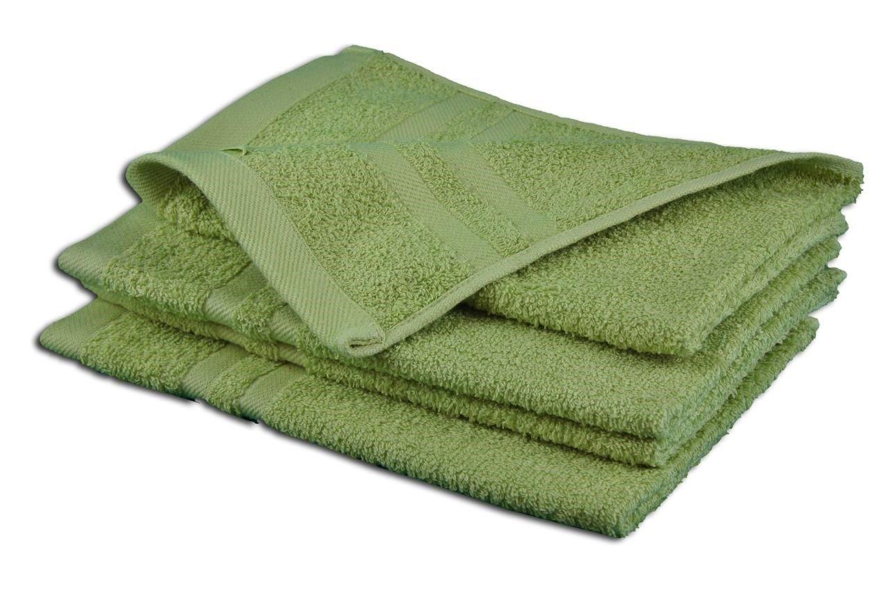 Gözze Sylt 7881-14-A3 Guest Towels (Set of 4), cappuccino, 30 x 50 cm 7881-75-A3