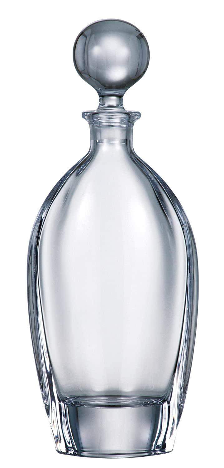 Barski - European Quality Glass - Lead Free - Crystalline - Wine - Whiskey - Liquor - Decanter - with Stopper - 24 oz. - Made in Europe