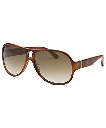 9613ca2c761 Amazon.com  Salvatore Ferragamo Sunglasses SF623S 222 Light Havana 623   Sports   Outdoors