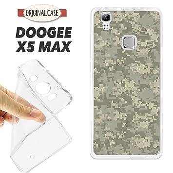 K180 FUNDA CARCASA DOOGEE X5 MAX BLANDA GEL TPU MILITAR ...