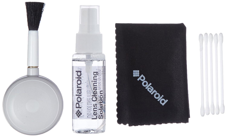 Polaroid Ploy005 - Kit de limpieza para cá mara digital y camcorder, color negro PLCAC5PCCLKIT
