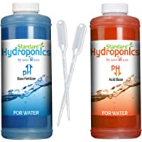 Standard Hydroponics PH Up and Down Kit 10 Oz Bottles, Hydroponic Gardens (PH Up Down)