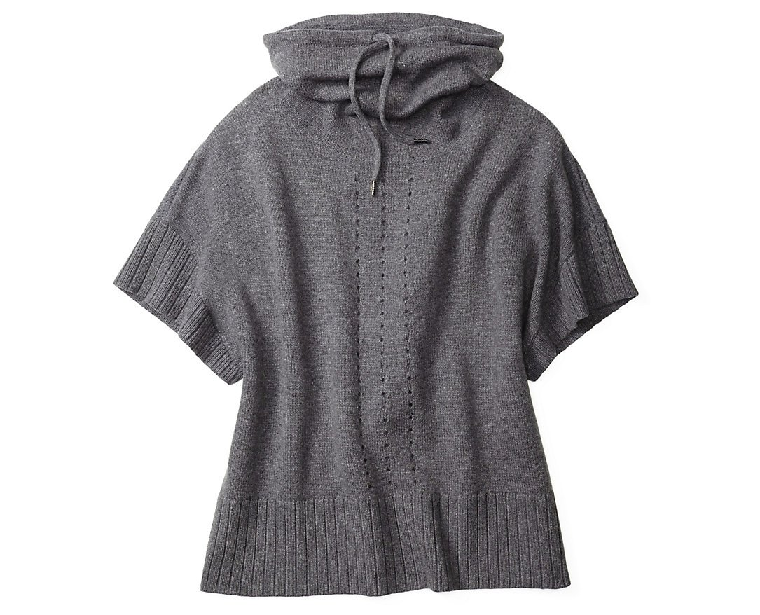 Smartwool Women's Crestone Poncho (Medium Gray Heather) Small/Medium by SmartWool