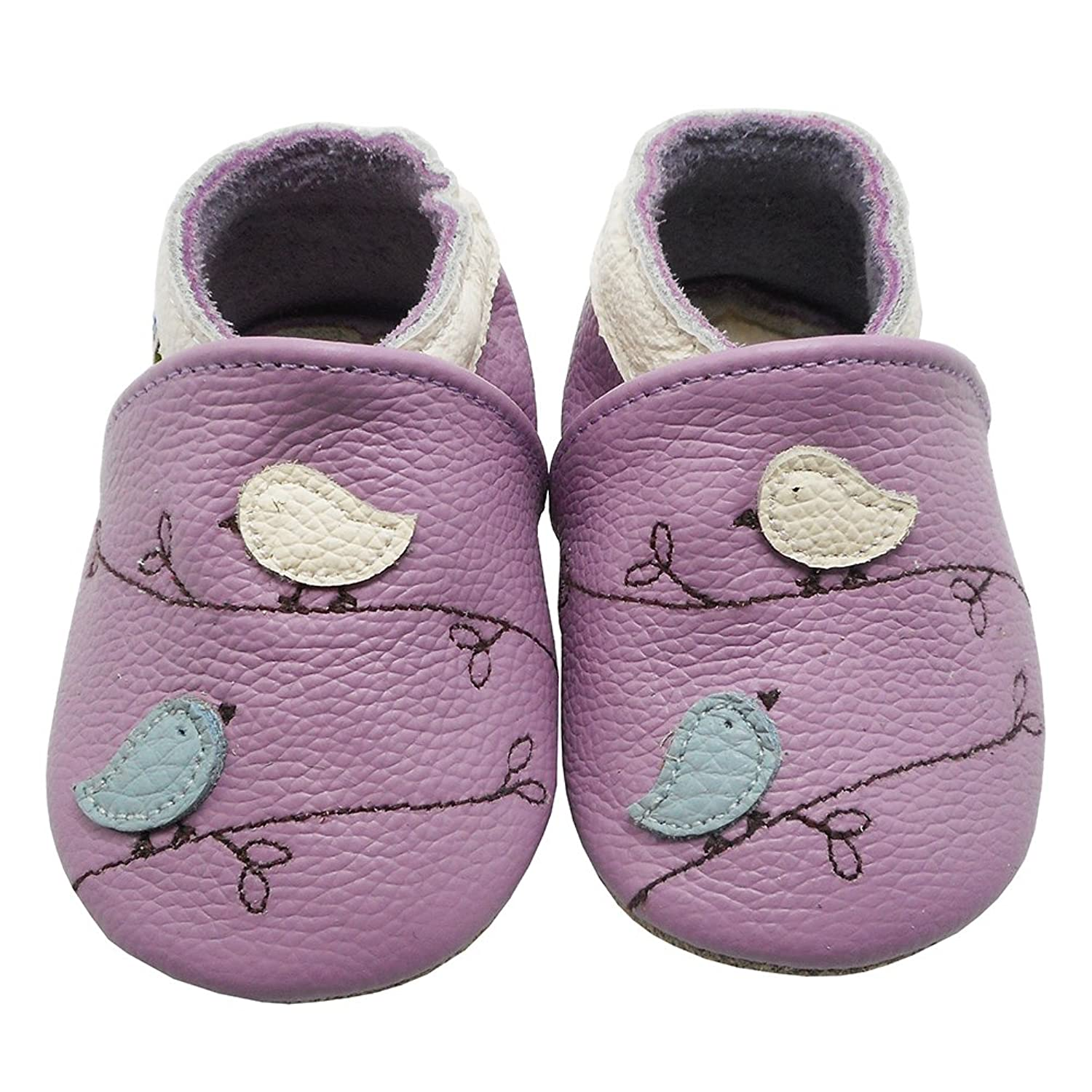 Amazon Yalion Soft Leather Baby Shoes Pre Walker Slippers