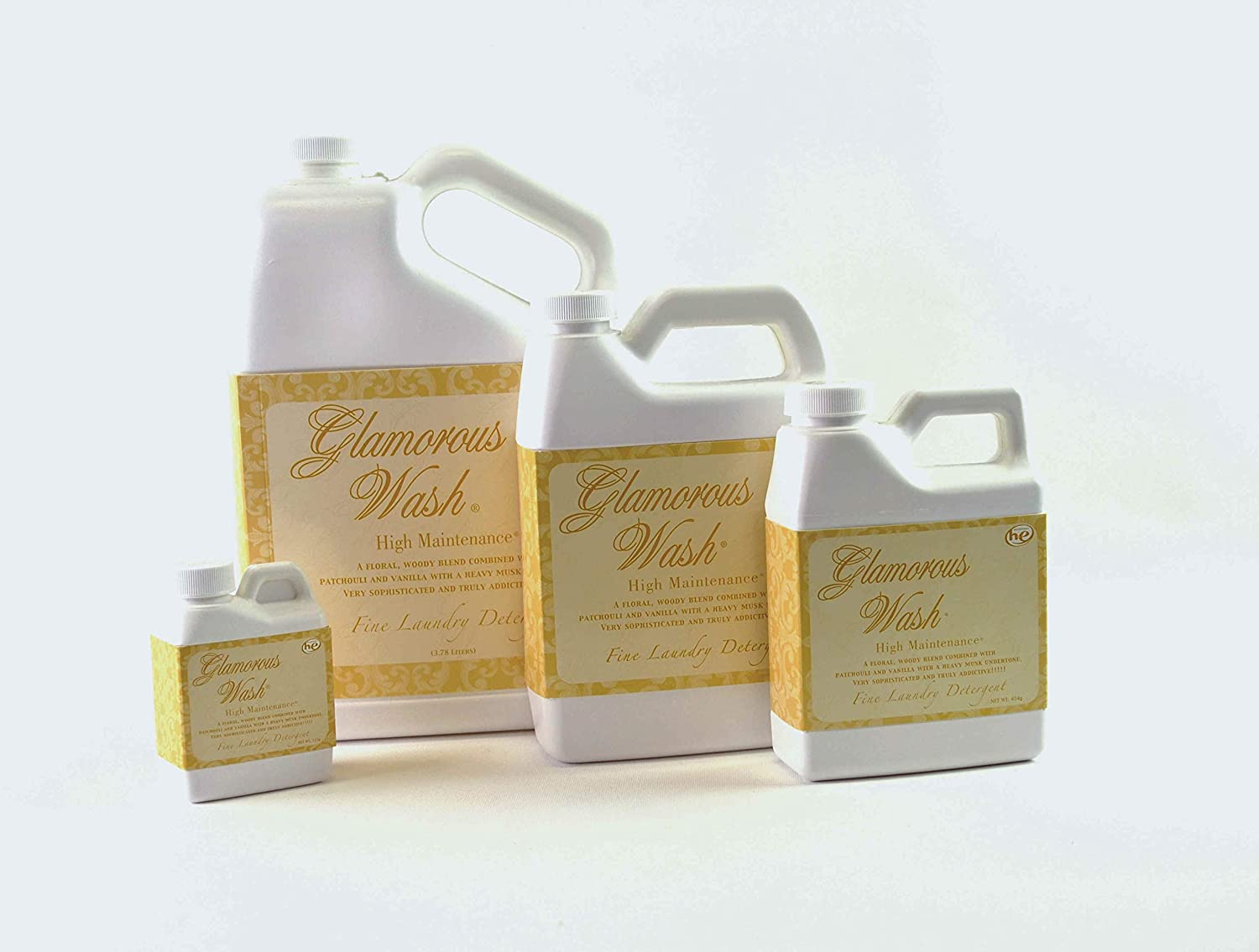 ENTITLED Glamorous Wash 64 oz Half Gallon Fine Laundry Detergent by Tyler Candles
