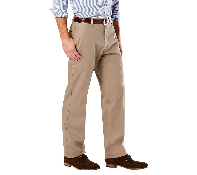 Dockers Mens Classic Fit Signature Khaki Pants D3