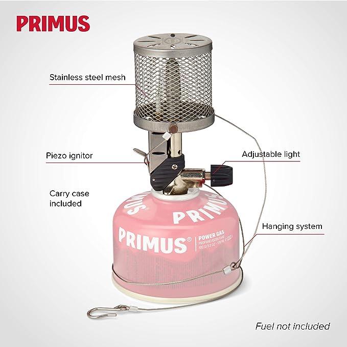 Primus Micron - Iluminación para Camping - Steel Mesh Gris 2019