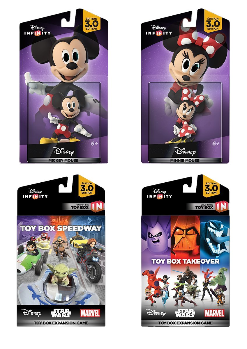 Disney Infinity 3.0 Edition: Mickey and Minnie Game Expansion Bundle - Amazon Exclusive by Disney Infinity (Image #1)
